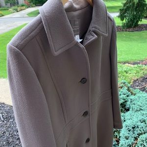 J. Crew Double-Cloth Wool Lady Day Coat.  Size 16